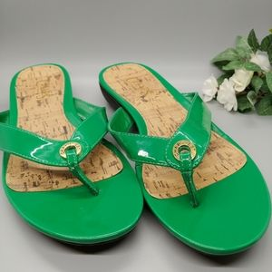 Chaps | Kaylen Spring Green Sandals